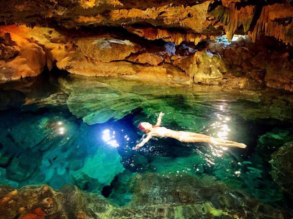 Visita el Cenote Nocturno de San Ignacio, Chocolá