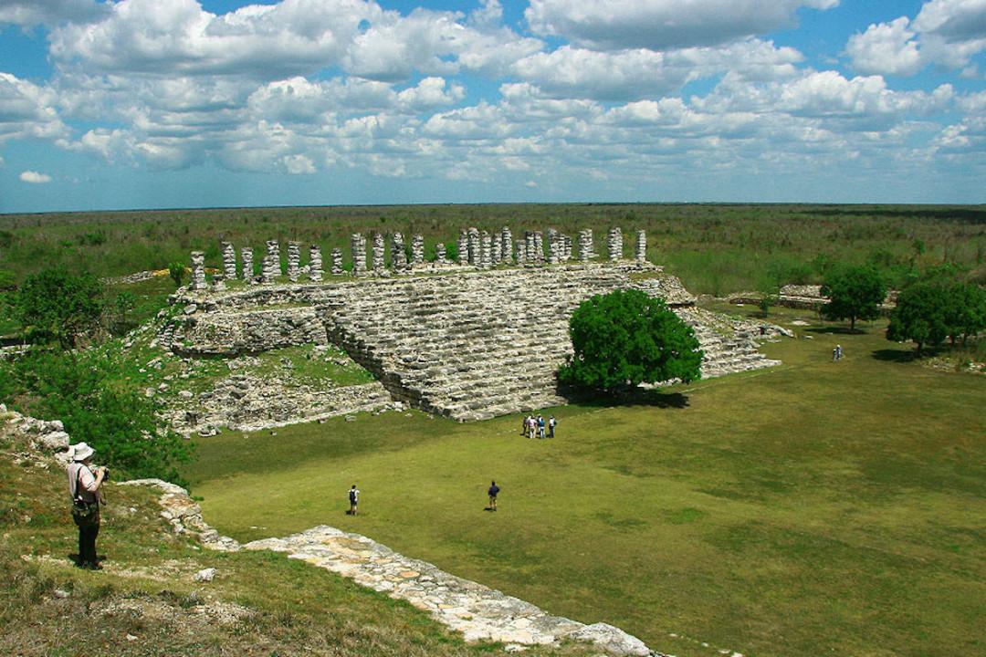 Las ruinas de Aké, Yucatán